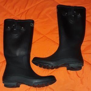 Natural Reflections Garden Boots Sz 9B Black